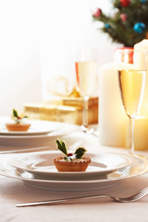 elegant table setting for holiday celebrations