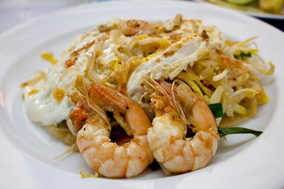 The Best Shrimp Pad Thai
