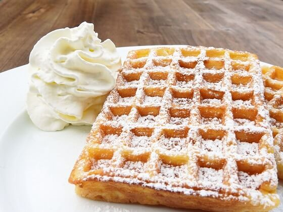 The Best Belgian Waffles (traditional with yeast)
